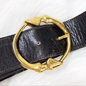 2fe971370 Gucci Accessories | 70s Horse Hoof Circle Belt Very Rare | Poshmark